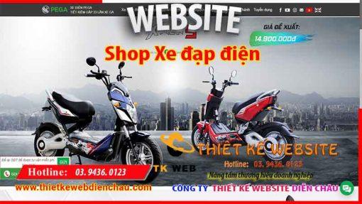 thiet-ke-web-ban-xe-dap-dien