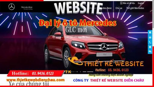 thiet-ke-web-o-to-Mercedes