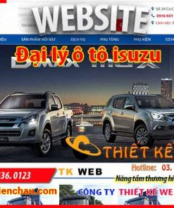 thiet-ke-web-o-to-isuzu