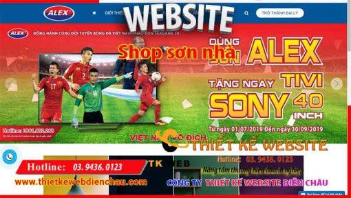 thiet-ke-web-shop-son-nha