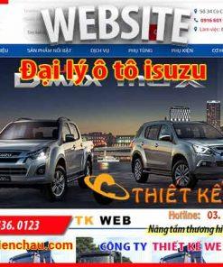 thiet-ke-web-o-to-isuzu